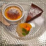 カフェレストラン ルシェッロ - デザートの盛り合わせ