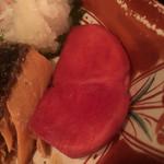酒 龍馬 - この赤かぶにはお婆ちゃんの愛が溢れています