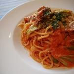 カフェレストラン ルシェッロ - 豚バラのトマトソース