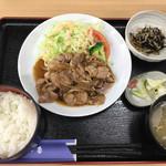 レストラン 戸々魯 - 料理写真:「佐助豚生姜焼き定食」