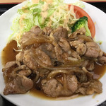 レストラン 戸々魯 - 佐助豚生姜焼き