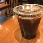 UCCカフェプラザ - アイスコーヒー 250円