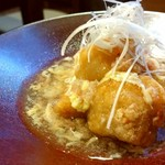 ほらふき亭 - 料理写真:里芋のズワイガニソースがけ