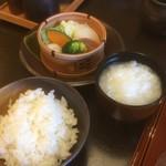 名栗温泉 大松閣 - 白飯、おかゆお代わり自由
