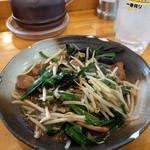 おおぎやラーメン - 料理写真:レバニラ~☆