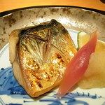 銀座みやま - 対馬鯖の塩焼き