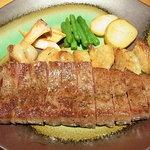 銀座みやま - 壱岐牛サーロインステーキ