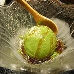 銀座みやま - 黒蜜抹茶アイスクリーム