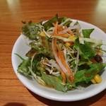 マントラカフェ - セットのサラダ
