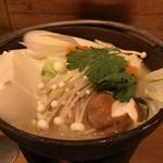 100603612 - とり味噌鍋①
