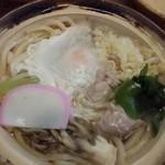 藤 - 料理写真:鍋焼うどん。700円