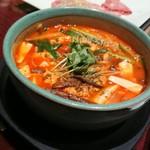 叙々苑 - ユッケジャン麺!