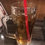 ホルモン酒場 はなび - ウーロン茶 350円