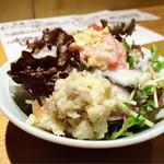 ほいっぽ - ポテトサラダがヤバいぃ〜〜((ʘ ʘ)))