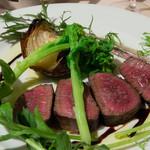 Giglio - 北海道産 蝦夷鹿モモ肉のアロスト