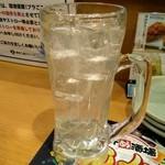 一軒め酒場 - レモンサワー