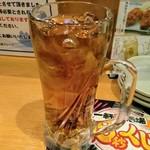 一軒め酒場 - ウーロン茶割