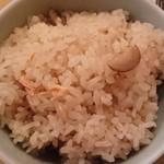 100614696 - 鮭とごぼうの炊き込みご飯