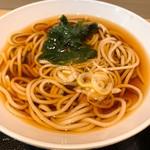 名代 富士そば - セットのミニ蕎麦