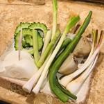 海風  - 宮古島産 島野菜の盛合せ