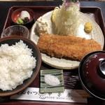甲子屋 - 特選ヒレカツ定食