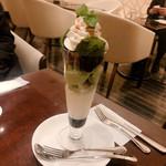 ノア カフェ - 抹茶パフェ 1,150円