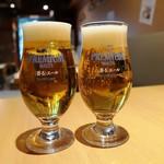 日本酒原価酒蔵 - 生ビールは「香るエール」