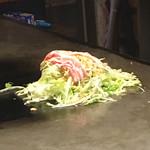 100620792 - キャベツなどの野菜の上に豚肉を載せました。(2019.1 byジプシーくん)