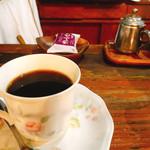 メキシコ - コーヒーにお菓子付き