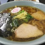 じゃずめん こんどう - 料理写真:ショウガ手打ち中華710円