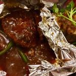 つばめグリル - つばめ風ハンブルグステーキ