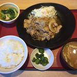 大分春日浦食堂 - 料理写真:豚のしょうが焼き定食