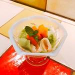 翡翠杏仁豆腐