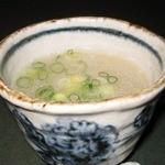 鳥處 大原家 - コラーゲンたっぷりスープ