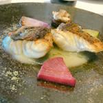 100640195 - 魚料理(メダイ)