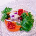 100640196 - 前菜 真鱈のヴァポーレ