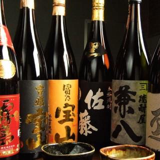 【こだわりの和食と相性抜群】圧巻の品揃えを誇る日本酒・焼酎
