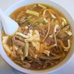 麗園 - 料理写真:酸辣湯麺
