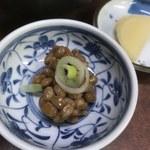 味のよし多 - 納豆