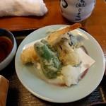 100650195 - ランチの天ぷら