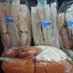 ムラタ - 購入したサンドイッチ