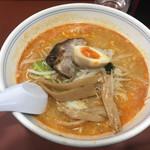 第1ススキノ - 胡麻ジャン麺。