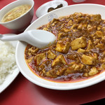 100657852 - 麻婆豆腐定食