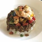 いーとん - 【冬季限定】海老と旬の野菜のキーマカレー