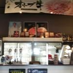 焼肉松坂 - 店内入ってすぐ