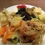 グリドルズ・バーTokyo赤蔵 - サラダバーのサラダと総菜
