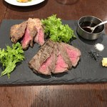 Bar espana carne - 本日のお肉2種盛り合わせ