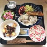 やまゆう堂 - 旅する定食@中国 1200円