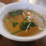 ヤマト - ・スープもシンプル