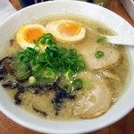 麺屋天狗 - 「久留米ラーメン」650円